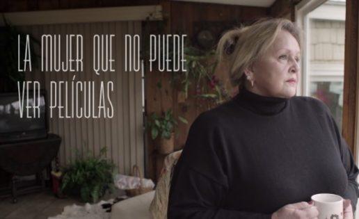 'La mujer que no podía ver películas'.
