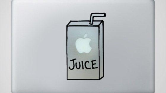 Apple y las pegatinas para Macbook.
