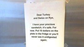 El ladrón de sándwiches que se hizo viral