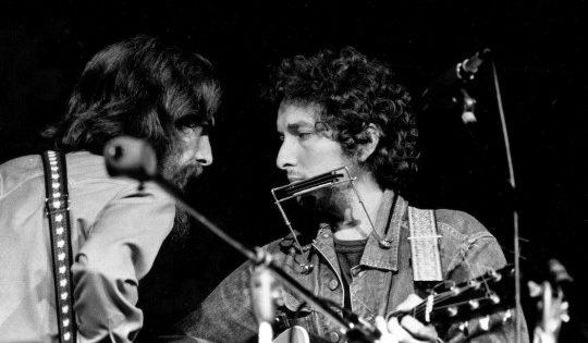 """""""Si no es por ti"""" de George Harrison y Bob Dylan"""