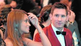 El Smoking de Messi