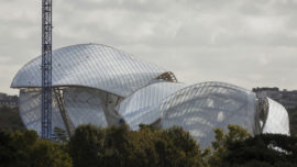 Louis Vuitton y Frank Gehry