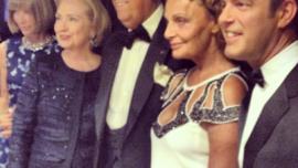 Las Primeras Damas y Oscar