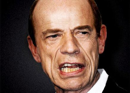 Mick Jagger, sin pelo