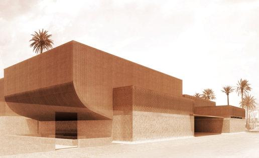 El museo de Yves Saint Laurent en Marrakech