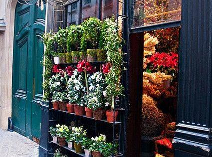 La rue des Saintes Pères en París