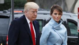 Melania Trump y la toma de posesión en Ralph Lauren