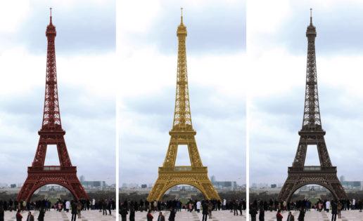 300 millones de visitas y 3 colores en la Torre Eiffel