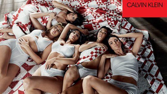 Calvin Klein y la nueva campaña con las Kardashian