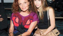 Diane Von Furstenberg y el relevo de su nieta Talita