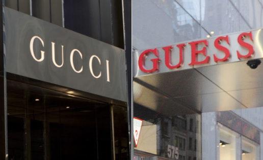 Gucci y Guess: fin de conflicto