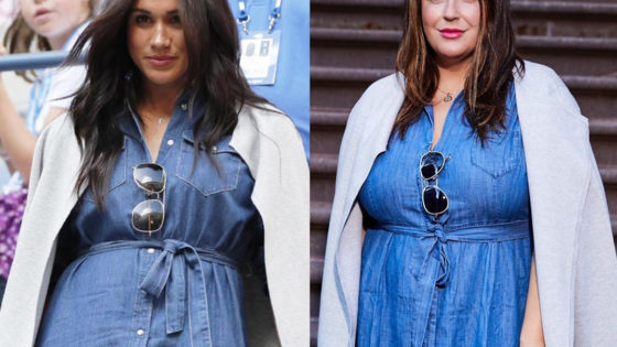 "La ""doble"" de Meghan Markle"