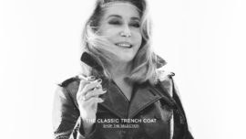 Catherine Deneuve ficha por Saint Laurent