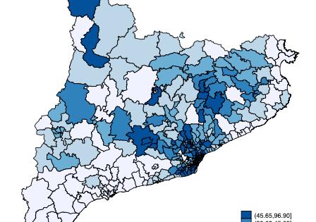 La propagación del COVID y su distribución geográfica en áreas pequeñas. Un análisis para Cataluña (I) Densidad y nivel socioeconómico