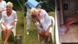 Se rompe el cuello mientras realizaba el Ice Bucket Challenge