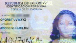 Una Colombiana se llama ABCDEFG HIJKLMN OPQRST UVWXYZ