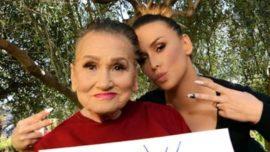 La increíble transformación de una abuela de 80 años al ser maquillada