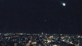 Graban un meteorito en el cielo de Arizona