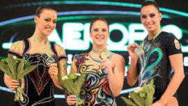 Sara Moreno, la referencia española de la gimnasia aeróbica