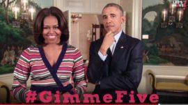 #GimmeFive – Michelle Obama te pone en forma