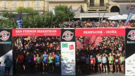 Correr en San Fermín 2015