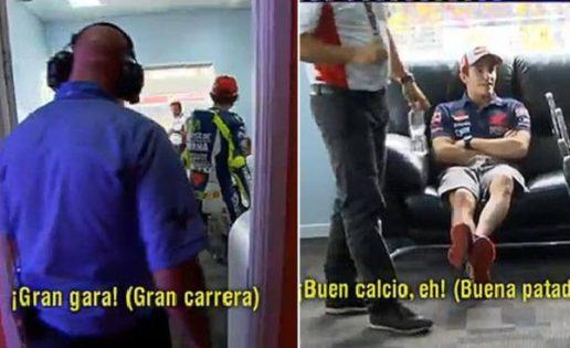 Los comentarios de Rossi y Márquez tras la carrera de Malasia