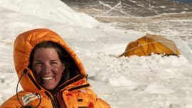 Tamara Lunger, la alpinista solidaria