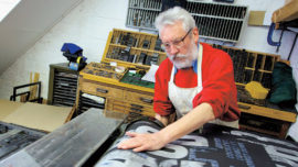 Alan Kitching y la impresión tipográfica