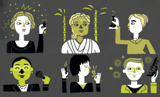 Mujeres con ciencia