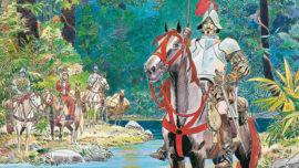 Un cómic histórico de Alfonso Font