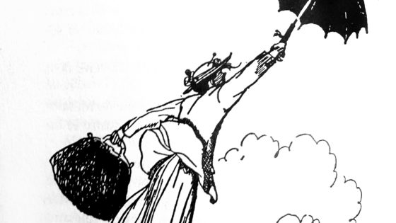¿Fue P. L. Travers, Mary Poppins?