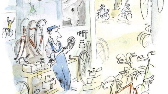Un maestro del batacazo en bicicleta