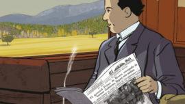La vida en viñetas de Antonio Machado