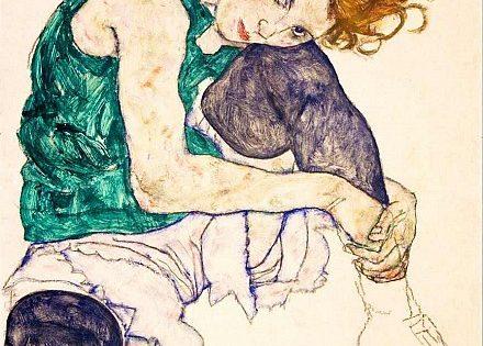 Egon Schiele, belleza y abismo
