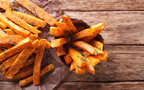 Receta FIT: chips de boniato