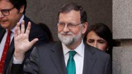 Rajoy en verde