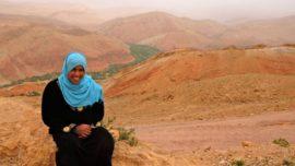 Un valle de rosas… ¡en el Sahara!