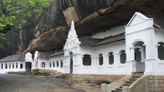 Las cuevas budistas de Dambulla
