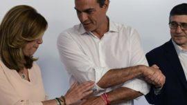 Susana como Hillary, Pedro como Michael Knight