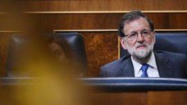 Rajoy en la calle Límite