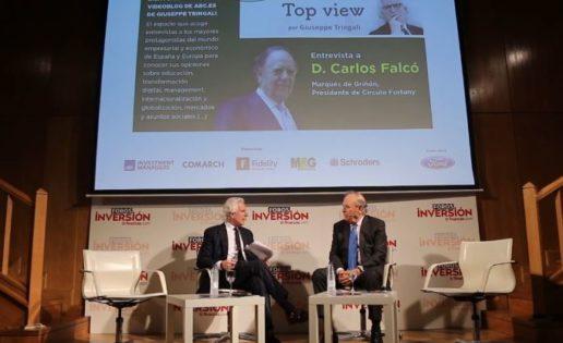 Don Carlos Falcó: «A los jóvenes les digo que en el sector del lujo hay muchísimas posibilidades»