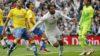 Cinco empates y goleadas a Las Palmas en el Bernabéu