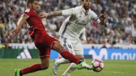 Goles y goleadas en las visitas del Sevilla al Bernabéu