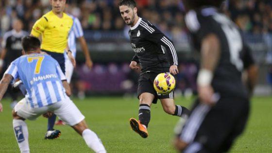 24 visitas seguidas marcando gol en La Rosaleda