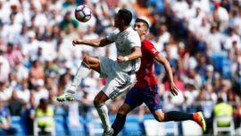 Osasuna en el Bernabéu: Robinson, Bienzobas y el triplete de Urban