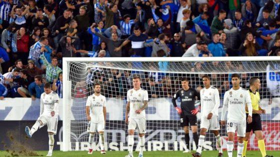 El desastre del Real Madrid del año pasado en Mendizorroza