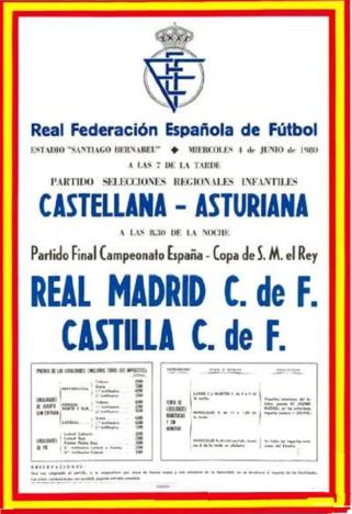 Aquella Final De Copa Real Madrid Castilla 40 Años Después