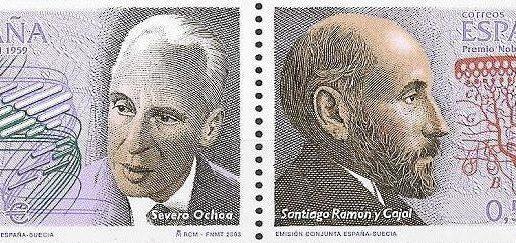 Cajal y Ochoa, unidos por el cerebro