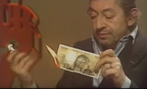 Gainsbourg en cinco instantes