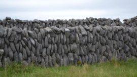 Muros de piedra seca
